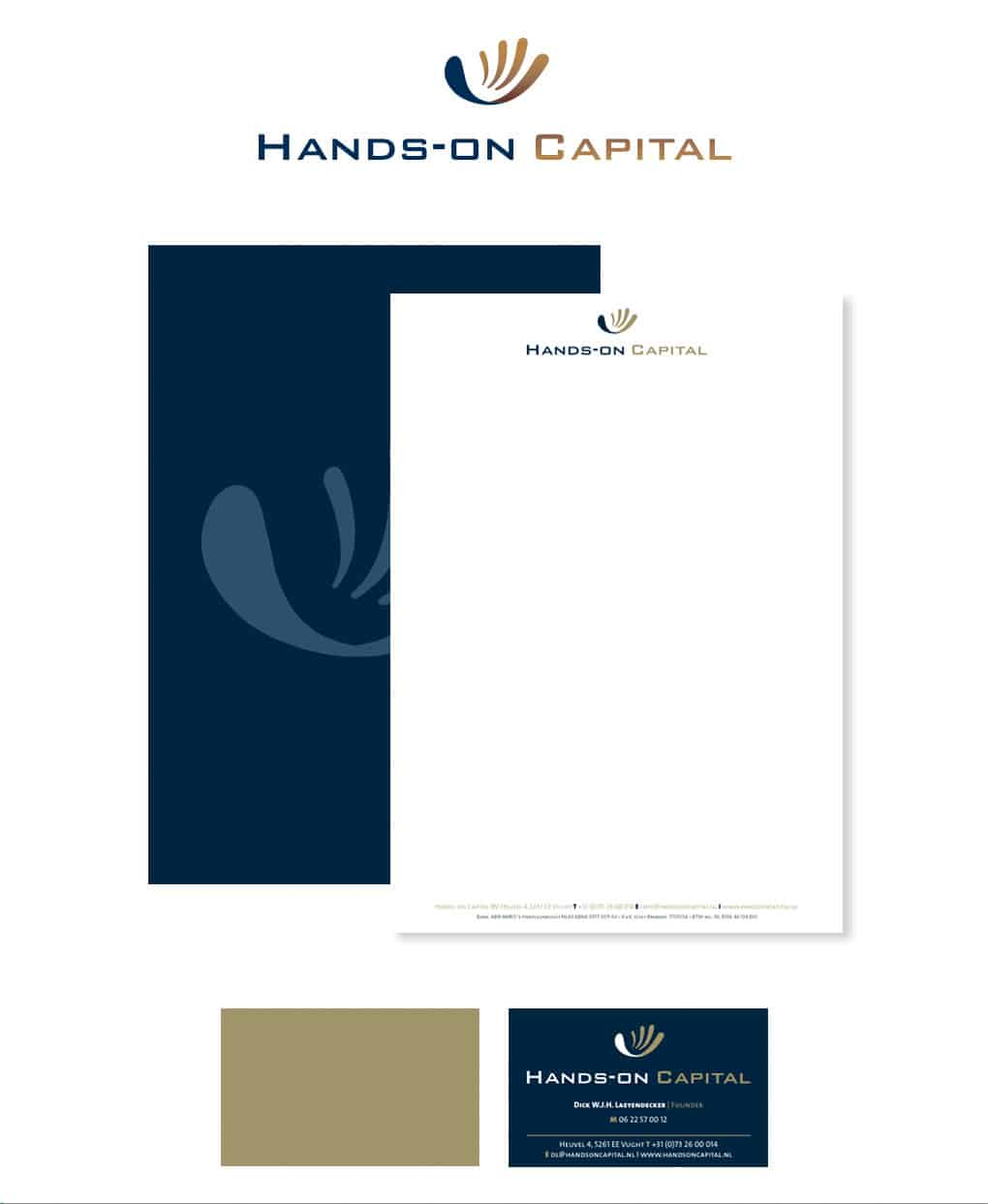 hands on capital huisstijl
