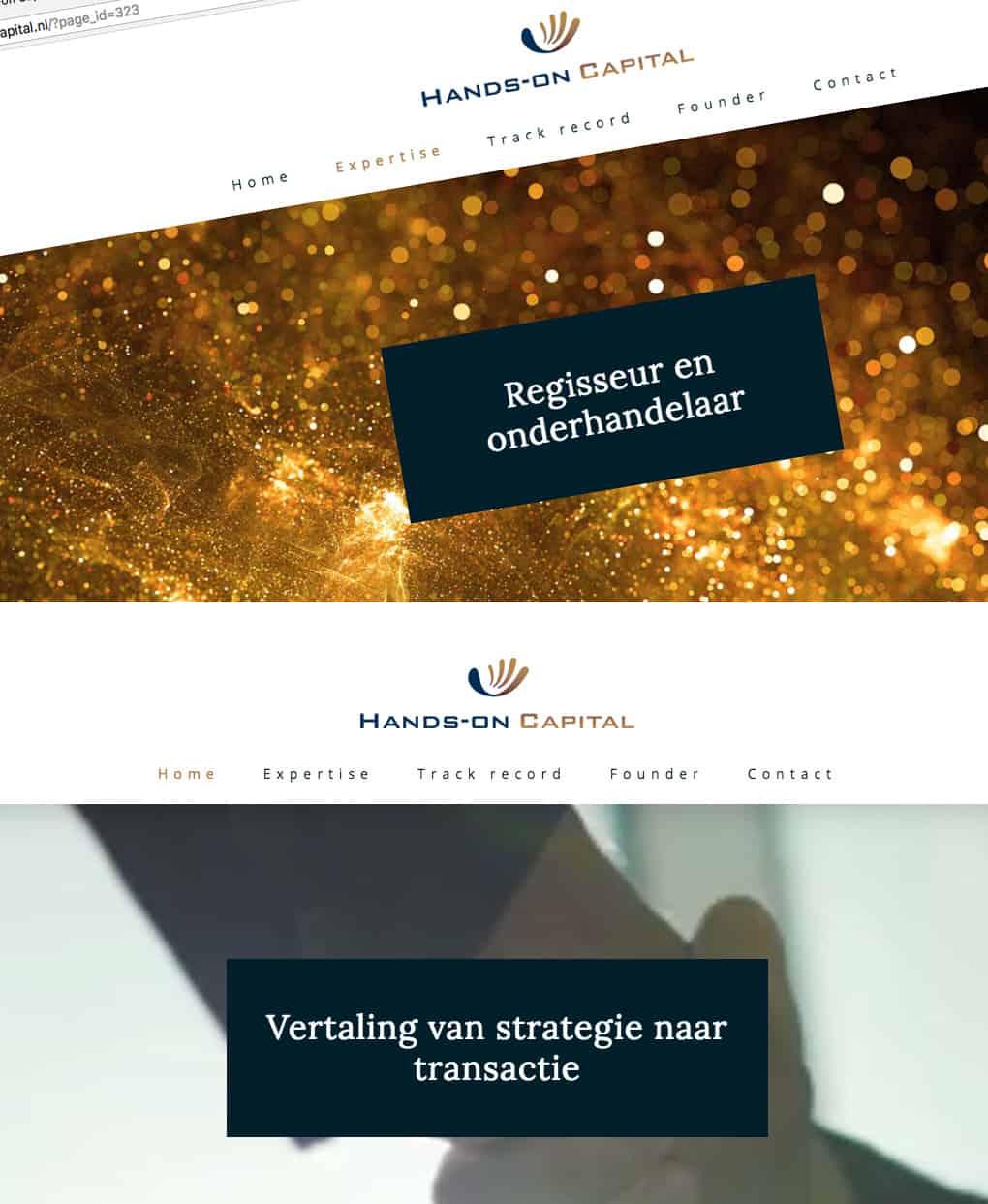 hands on capital website