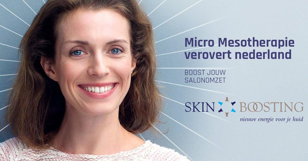 SkinBoosting advertentie door Kneh