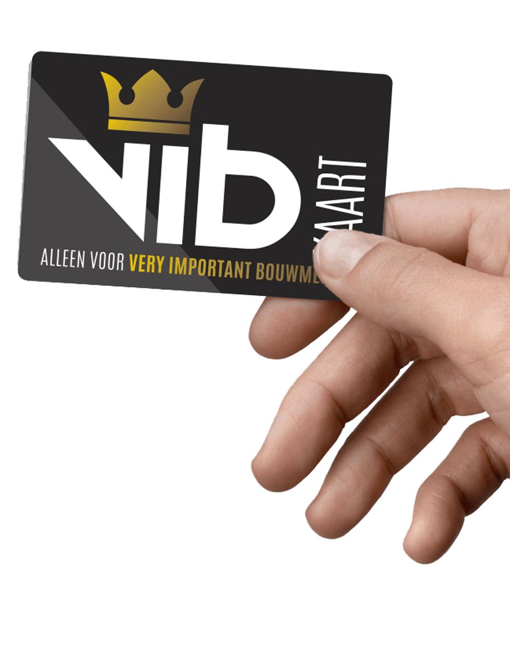 VIBkaart ontwikkeld door Kneh Creatief