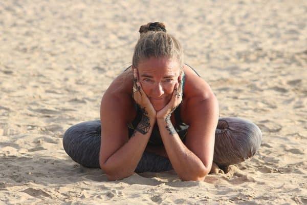 Yogalein campagne door Kneh