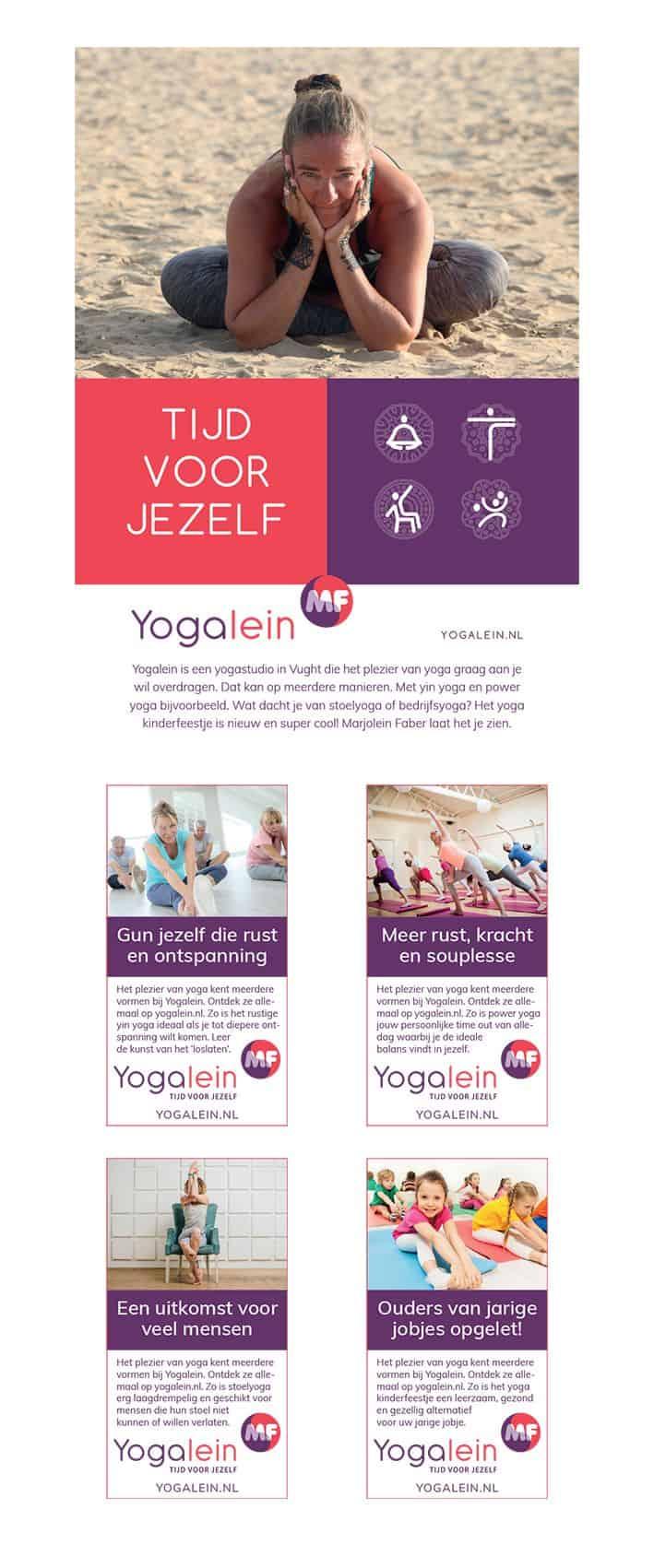 Yogalein uitingen door Kneh