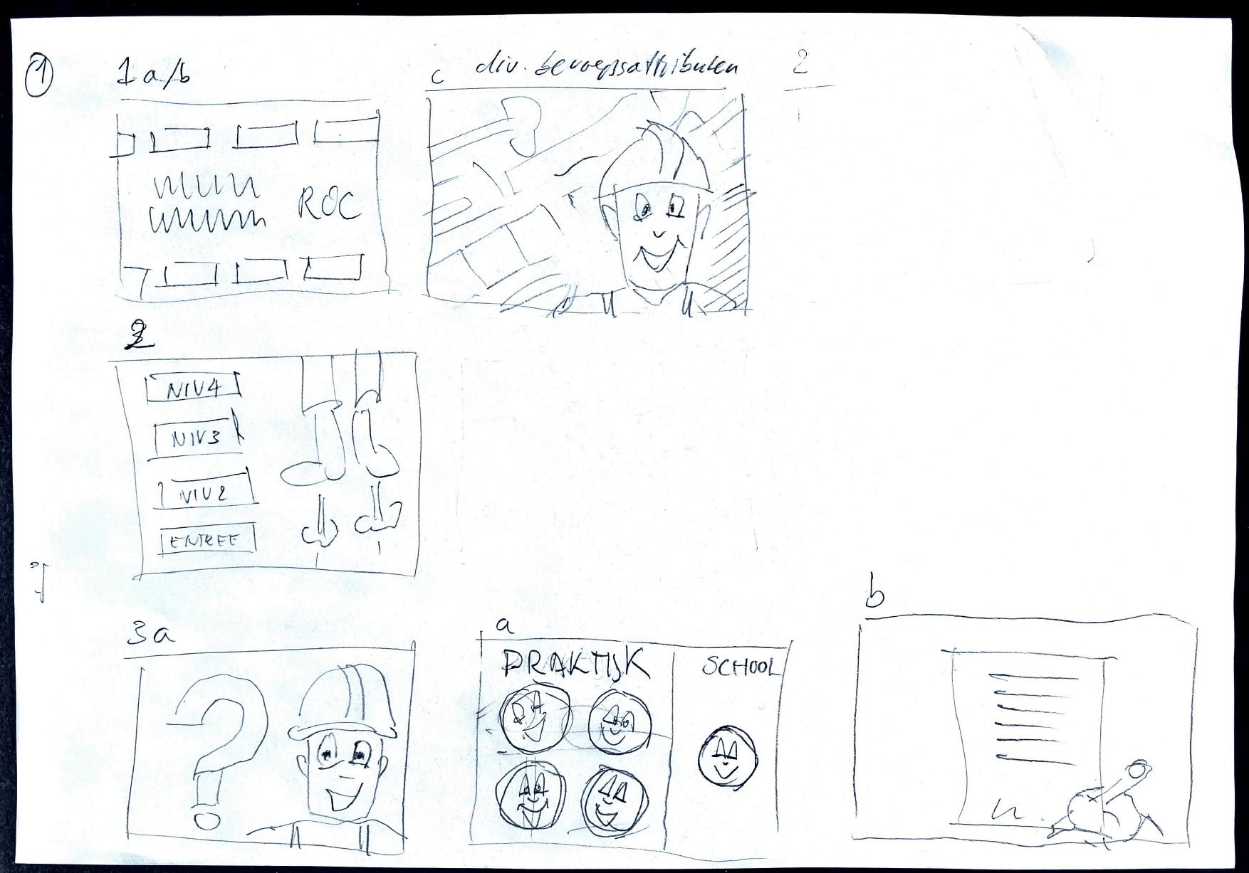 Storyboard Uitlegfilmpje